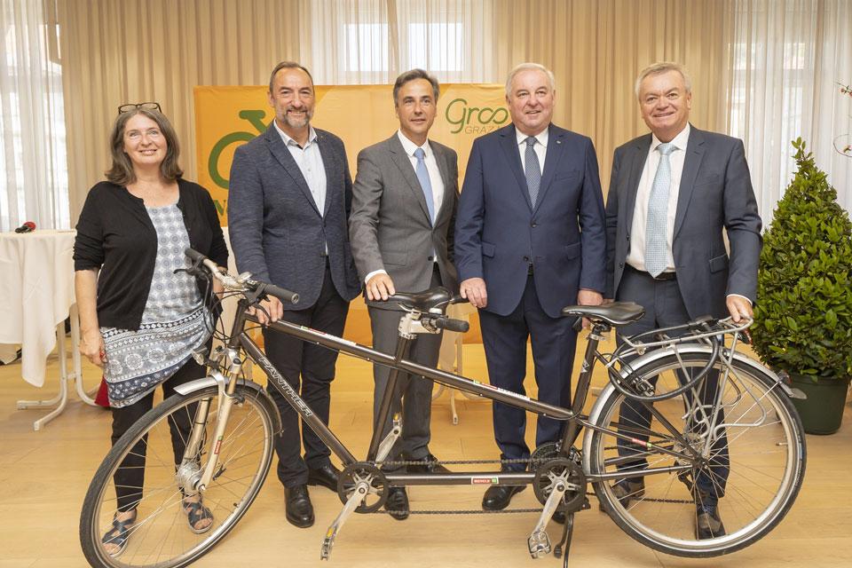 Graz wird Fahrradhauptstadt Europas