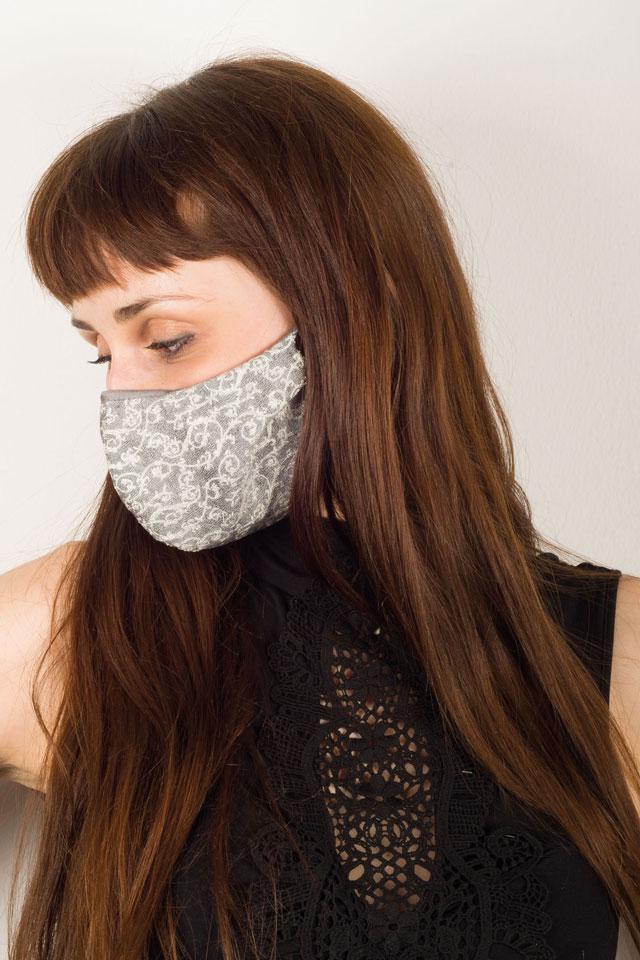 Trendige Schutzmasken