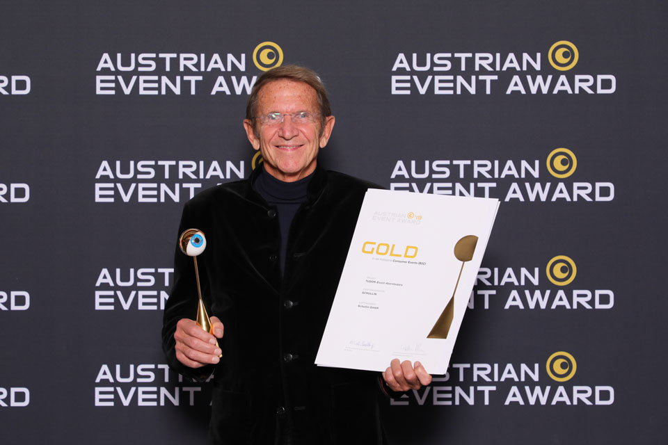 Gold für Juwelier Hans Schullin